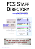 FCS Directory.pub - Human Services Agency of San Francisco