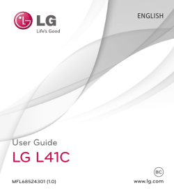 LG Ultimate 2 Manual