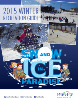 Winter Recreation Guide