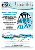 February 2015 - West Pasco Chamber of Commerce