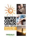 2015 Winter Course Catalog [PDF]