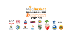euroleague 2014-2015 top 16