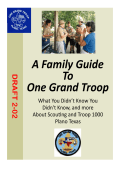 A Family Guide To One Grand Troop