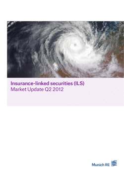 Insurance-linked securities (ILS) Market Update Q2 2012
