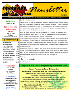 Newsletter - Coronado Home