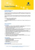 SAF Group Term Life Product Summary