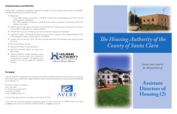 Assistant Directors of Housing