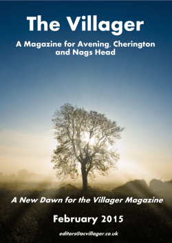 February 2015 - Avening Parish Council