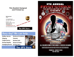 Download Flyer - American Karate Association