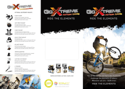 Flyer Download - GoXtreme® Action Cams
