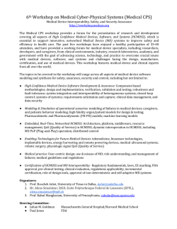 6th Medical-CPS Workshop CFP 2015.docx