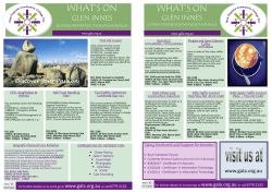 Glen Innes Term 1 Course Brochure
