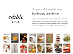 Media Kit - Edible Feast