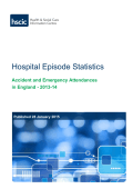 Accident and Emergency Attendances in England - 2013