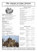 The Parish of Saint Patrick - John Patrick Publishing Company