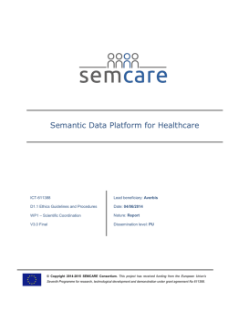 Semantic Data Platform for Healthcare
