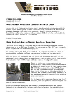 Man Arrested in Cornelius Head-On Crash