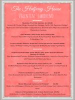Valentines WeekendClick to View Pdf Menu