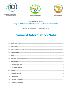 General Information Note
