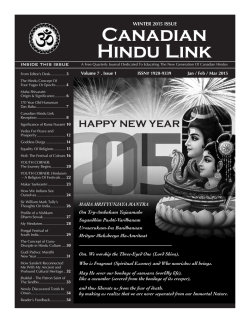 Magazine Q1 - Hindu Education Link