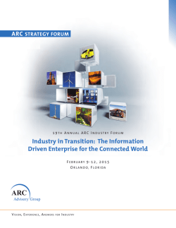 arc-industry-forum-orlando-2015-program
