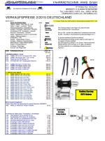 6 Seiten Teilepreisliste (parts)