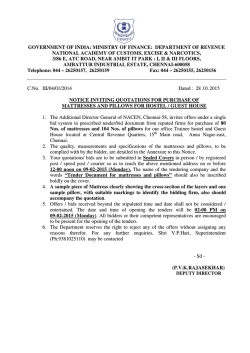 government of india: ministry of finance: department of revenue
