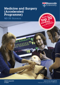 Medicine and Surgery (Accelerated Programme)