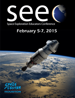 SEEC 2015 General 1 - Space Center Houston