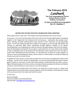 Landmark - First Congregational Church