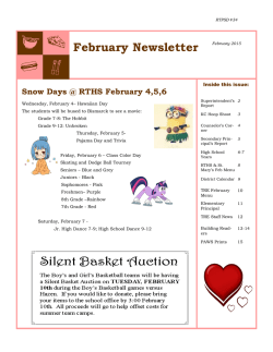 February Newsletter - Richardton