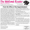 The McComb Reader - McComb Local Schools