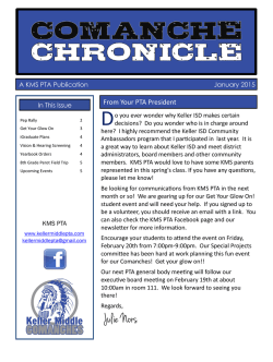 January 2015 - Keller Middle School PTA