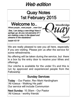 Web edition - Woodbridge Quay Church