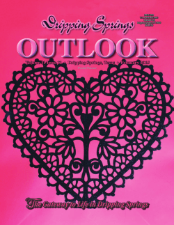 Cover - Dripping Springs Outlook