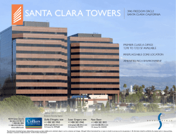 SANTA CLARA TOWERS 3945 FREEDOM CIRCLE