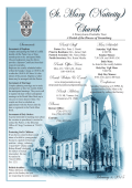 Bulletin - St. Mary (Nativity)
