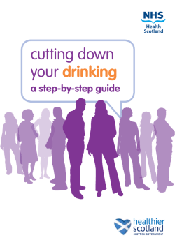 CuttingDownYourDrinking - Alcohol and Drugs Support