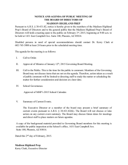 February 2nd Meeting Notice.pages