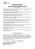 Weekly Calendar - Sarasota County Government
