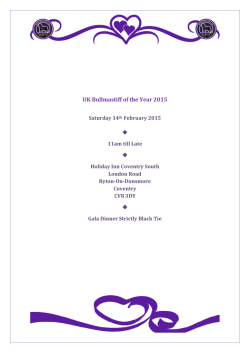 UK Bullmastiff of the Year 2015