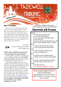 Tazewell Tribune 4-H Newsletter - University of Illinois Extension