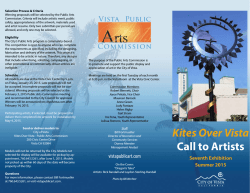 Kites Over Vista Call to Artists