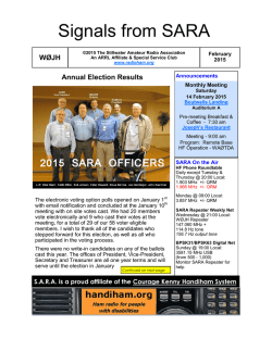 Download Newsletter - Stillwater Amateur Radio Association