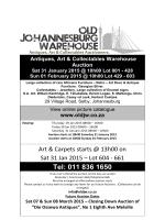 Tel: 011 836 1650 - Old Johannesburg Warehouse