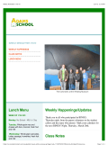 Weekly Newsletter 1/16/15