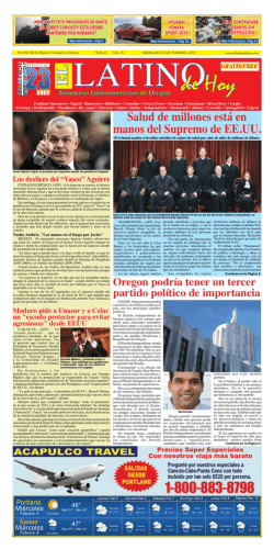 PDF Version - Latin Newspaper of Oregon