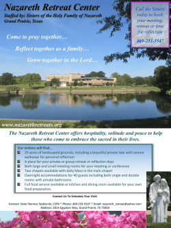 Nazareth Retreat Center