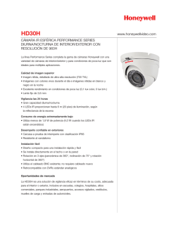 HD30H - Honeywell Video Systems
