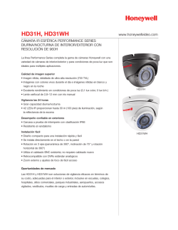 HD31H - Honeywell Video Systems